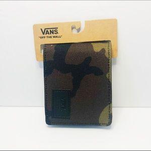 VANS Camo Print Wallet NWT❗️DEAL❗️